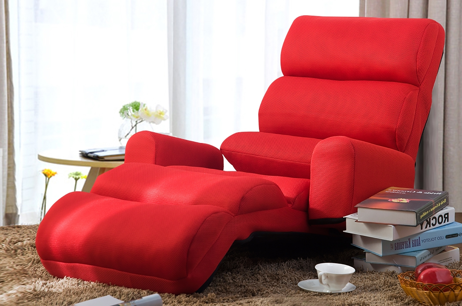 Folding Sofa Chairs Within Popular Merax » Wf008061Jaa (View 7 of 15)
