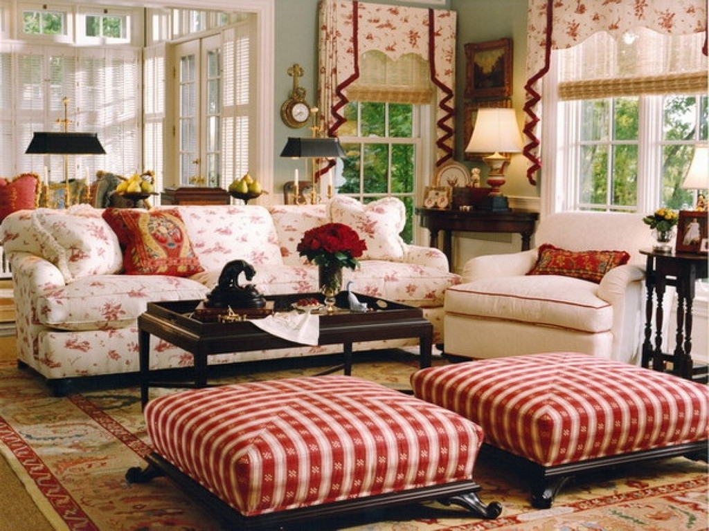 French Country Living Room Sets Cottage Sofas And Loveseats Style For Widely Used Country Style Sofas (View 7 of 15)