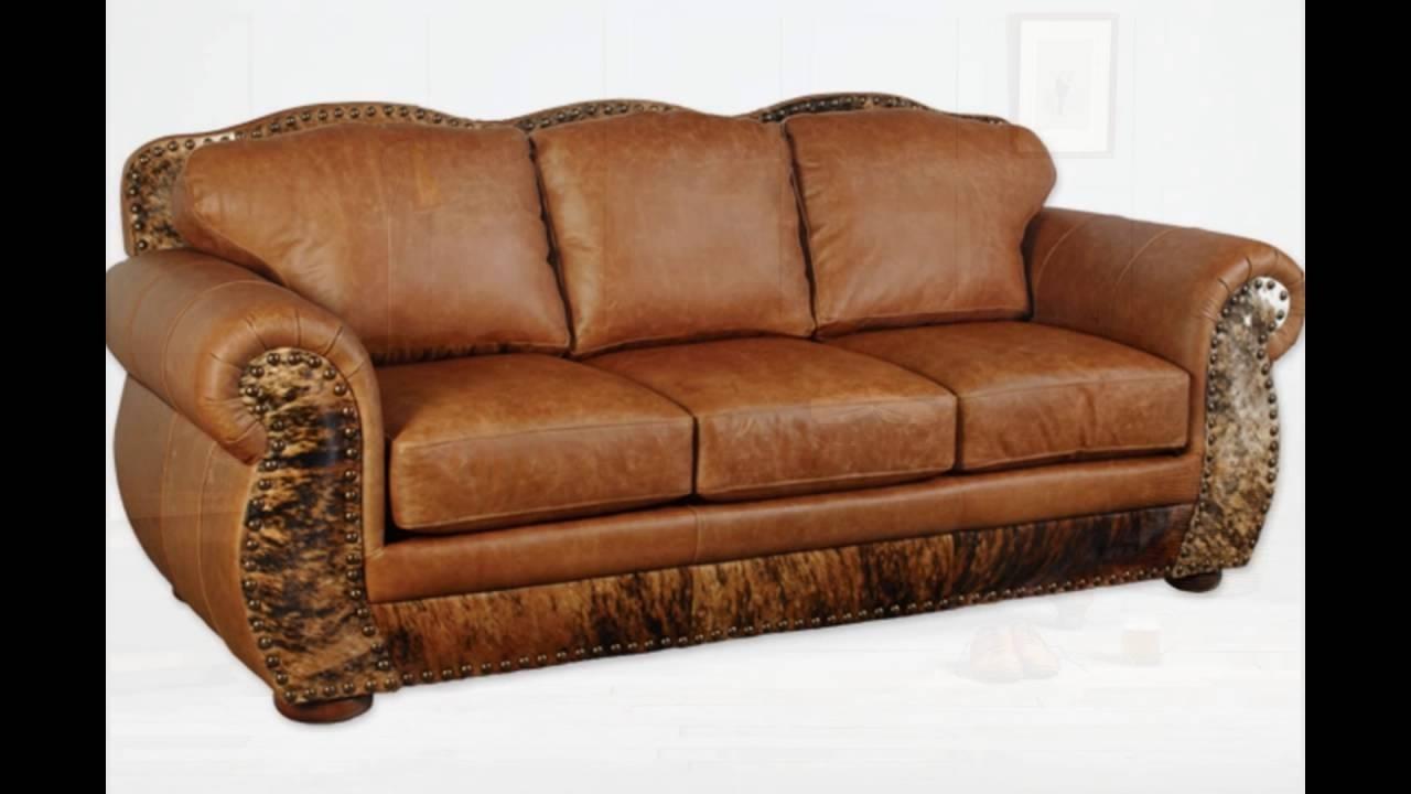 Full Grain Leather Sofa – Youtube Intended For Most Current Full Grain Leather Sofas (View 2 of 15)