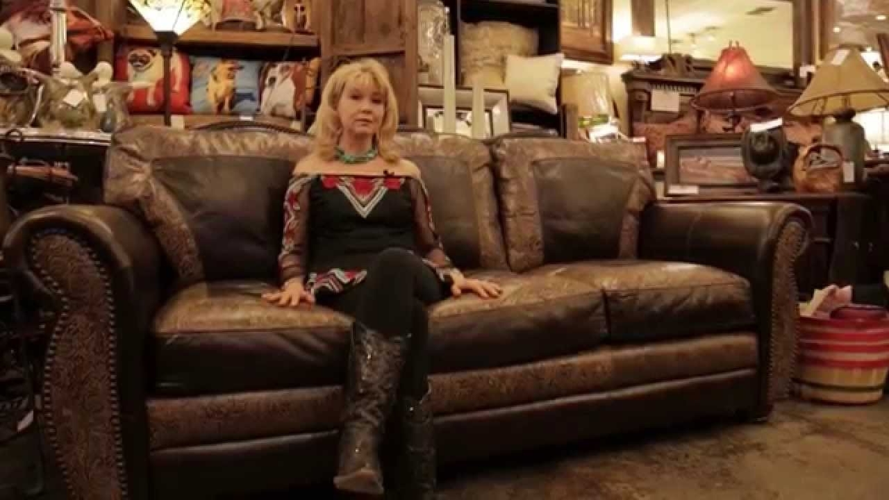 Full Grain Leather Sofas Within Well Liked United Leather El Dorado Handmade Top Grain Leather Sofa – Youtube (View 14 of 15)