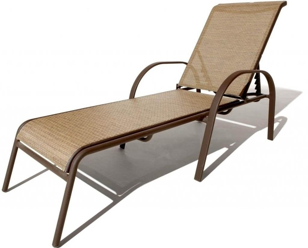 Furniture: Great Cast Aluminum Pool Chaise Lounge In Brown Finish For Well Liked Pool Chaise Lounge Chairss (View 15 of 15)
