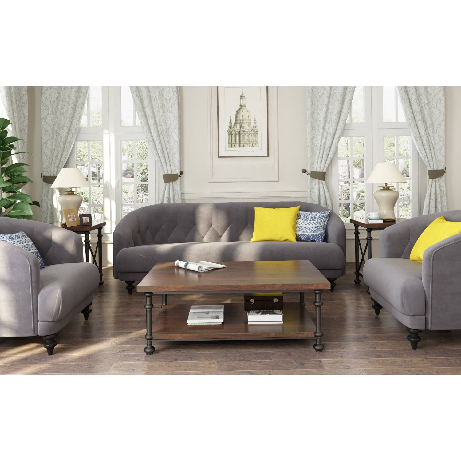 Furniture : Green Tufted Chaise Lounge Furniture Making Ottawa With Most Current Kitchener Sectional Sofas (View 4 of 15)