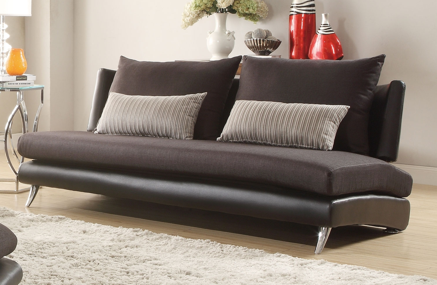 Furniture Home: Armless Sofa (View 12 of 15)