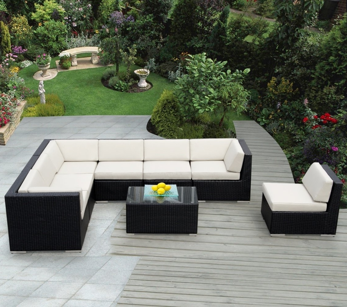 Furniture Ideas: Mexican Patio Furniture With Wooden Pattern Deck Pertaining To Preferred Patio Sofas (View 9 of 15)
