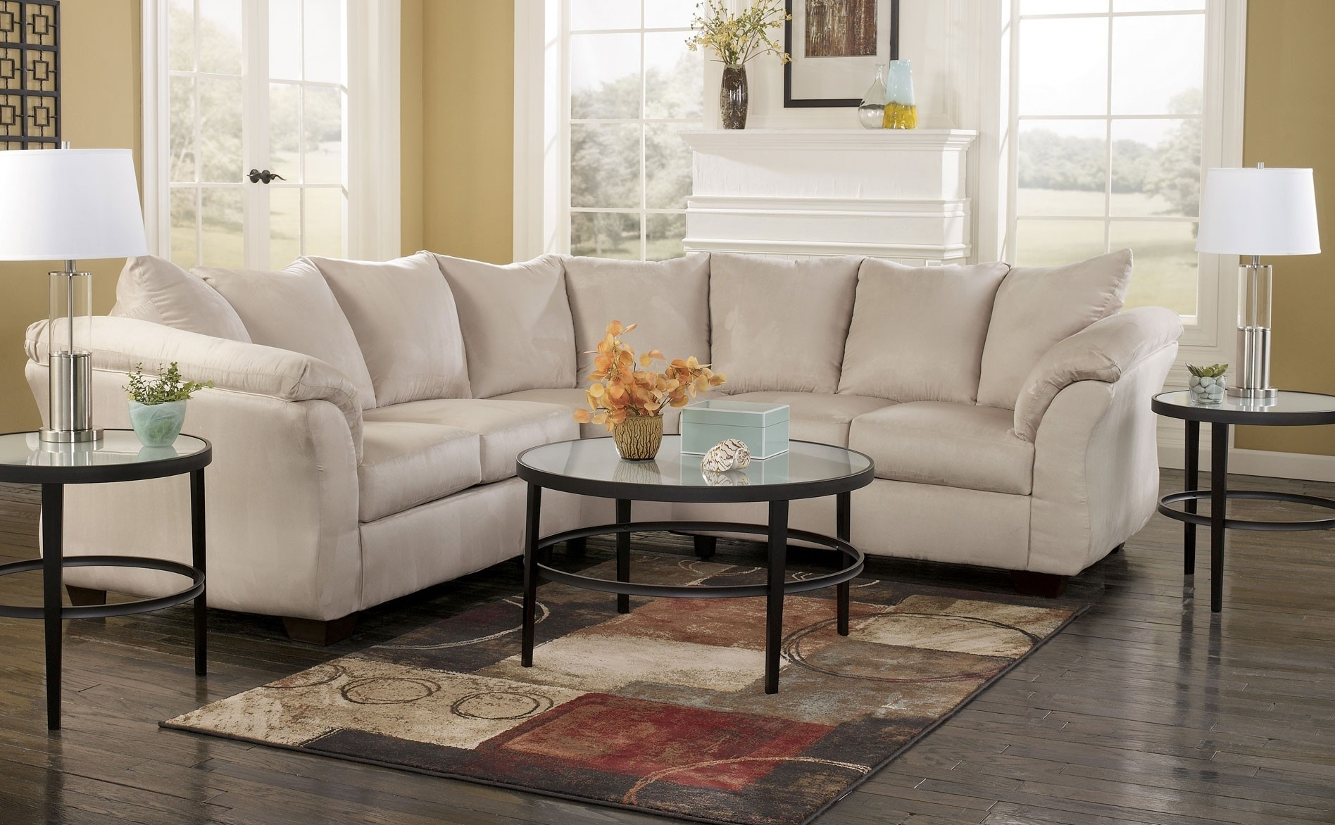 Furniture: Inspiring Living Room Decor With Cheap Sectional Sofas Regarding Widely Used Mathis Brothers Sectional Sofas (View 6 of 15)