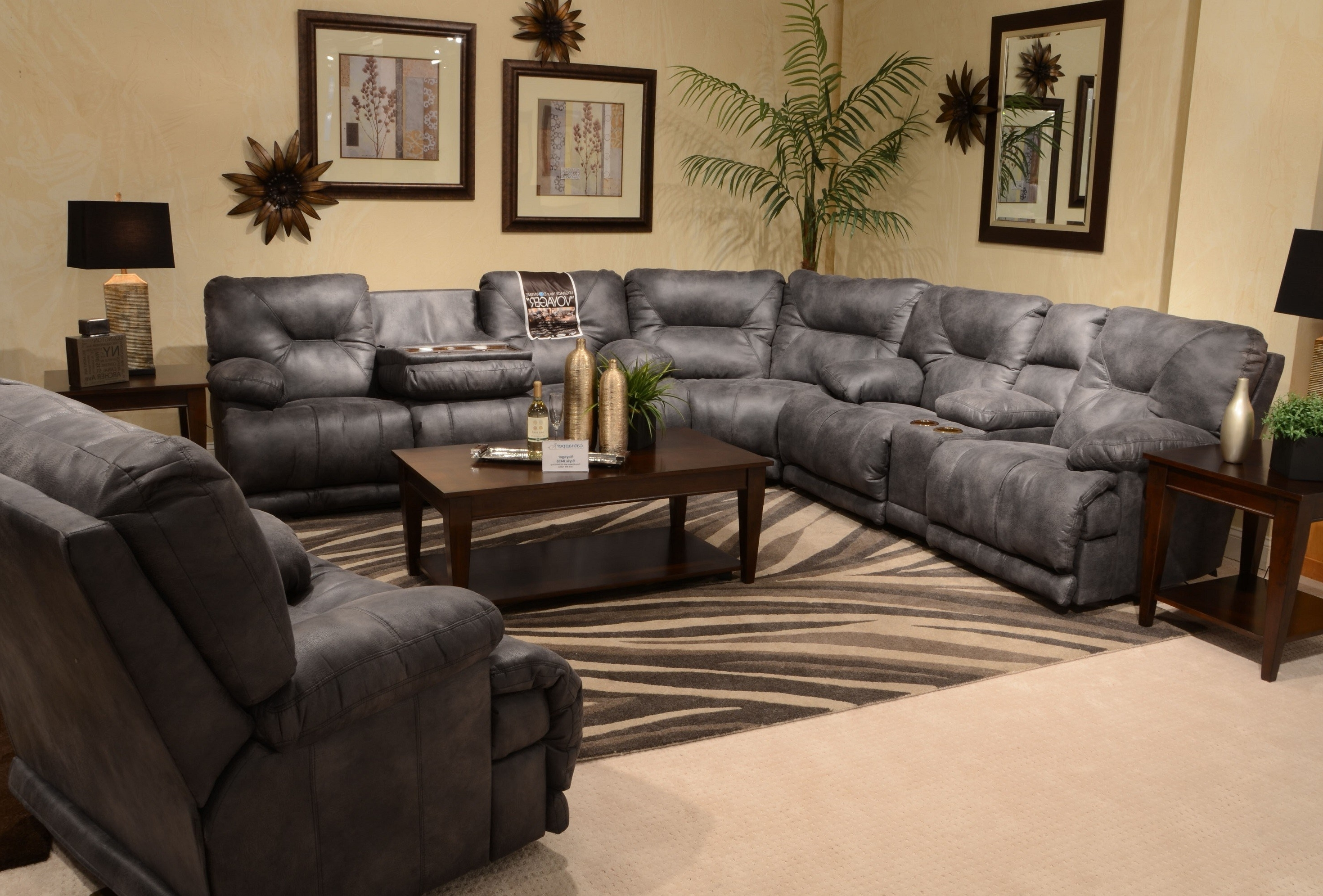 Furniture: L Shaped Couch With Extra Large Sectional Sofa Regarding Well Known Extra Large Sectional Sofas With Chaise (View 13 of 15)