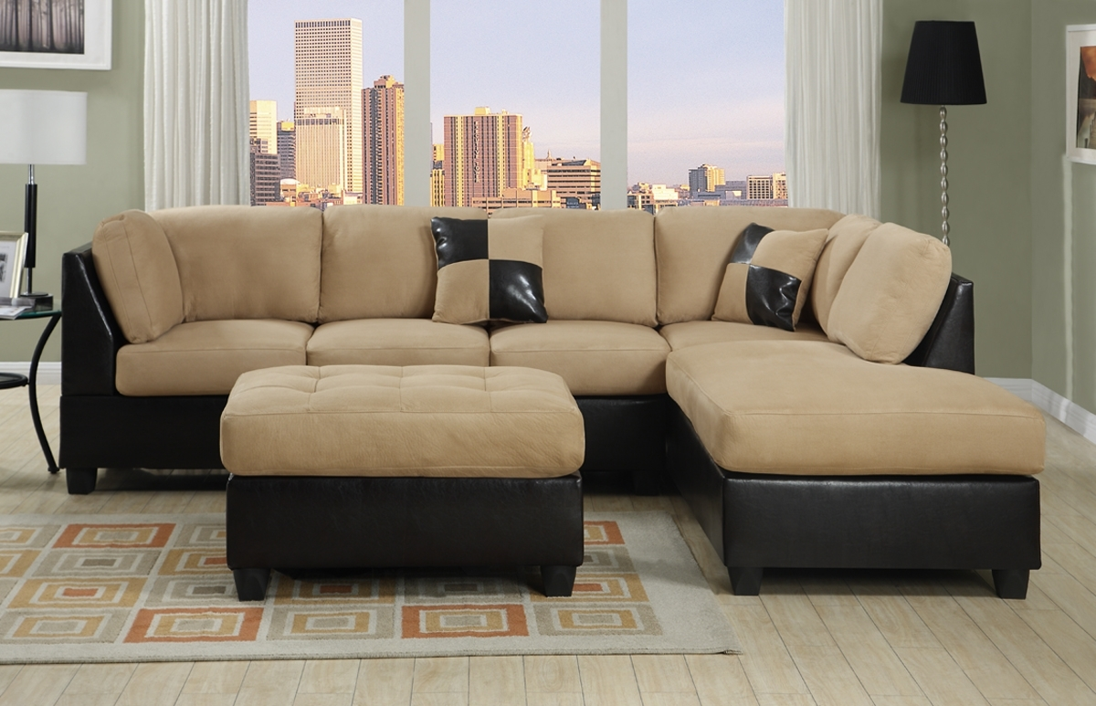 Furniture: Modern Design Ideas Cream Sectional Sofa With Floor Regarding Most Current Affordable Sectional Sofas (View 8 of 15)