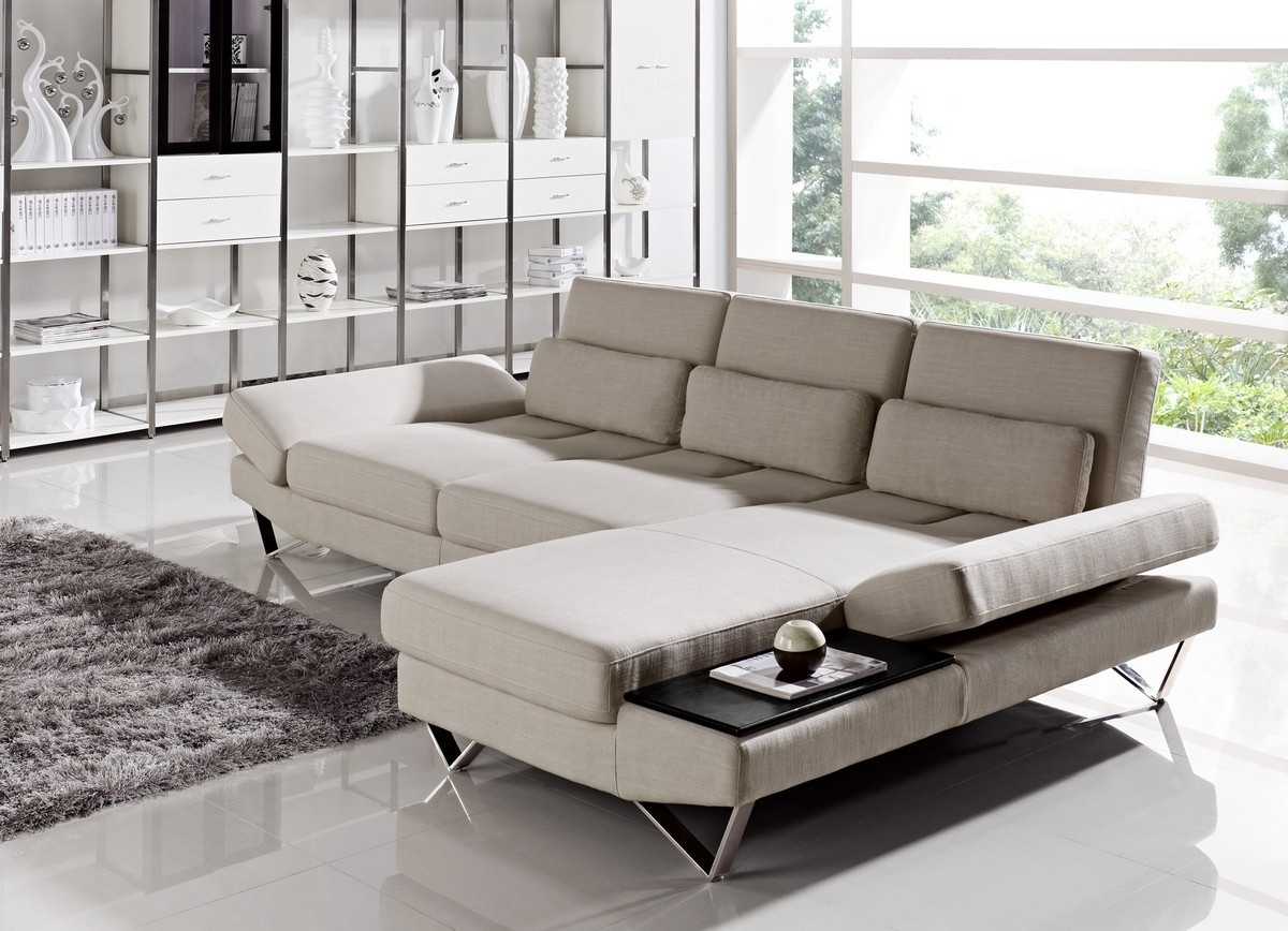 Furniture: Modern Living Room Interior Design Ideas With Modern Pertaining To Recent Contemporary Fabric Sofas (View 5 of 15)