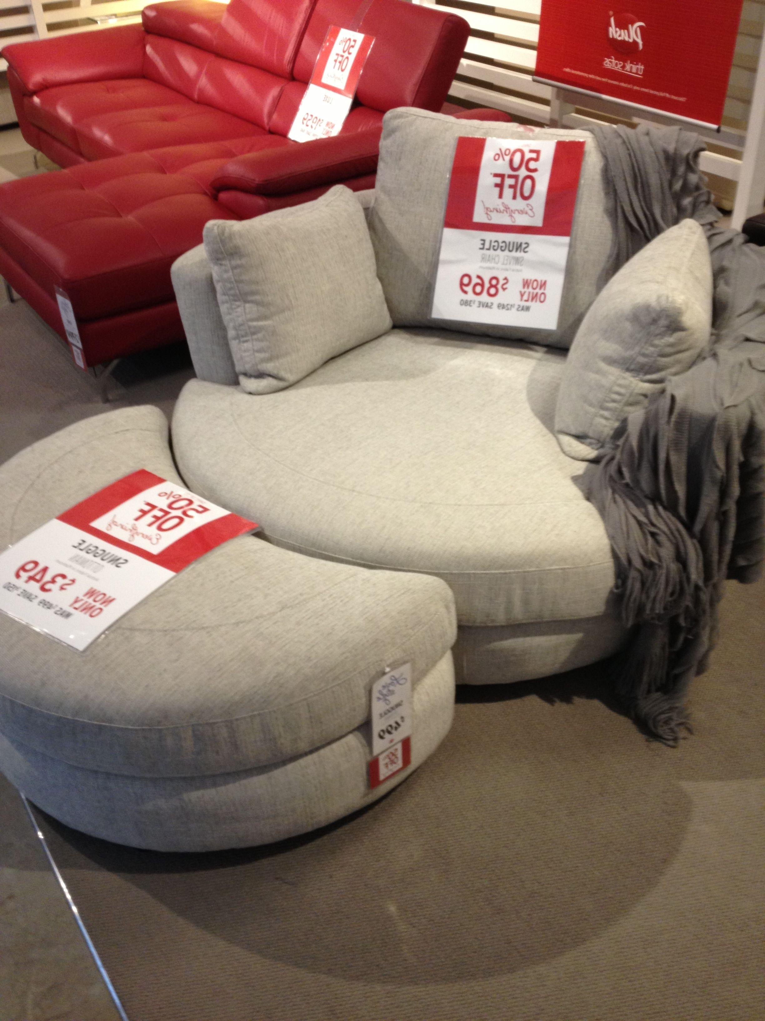 Furniture Regarding Trendy Cuddler Swivel Sofa Chairs (View 10 of 15)
