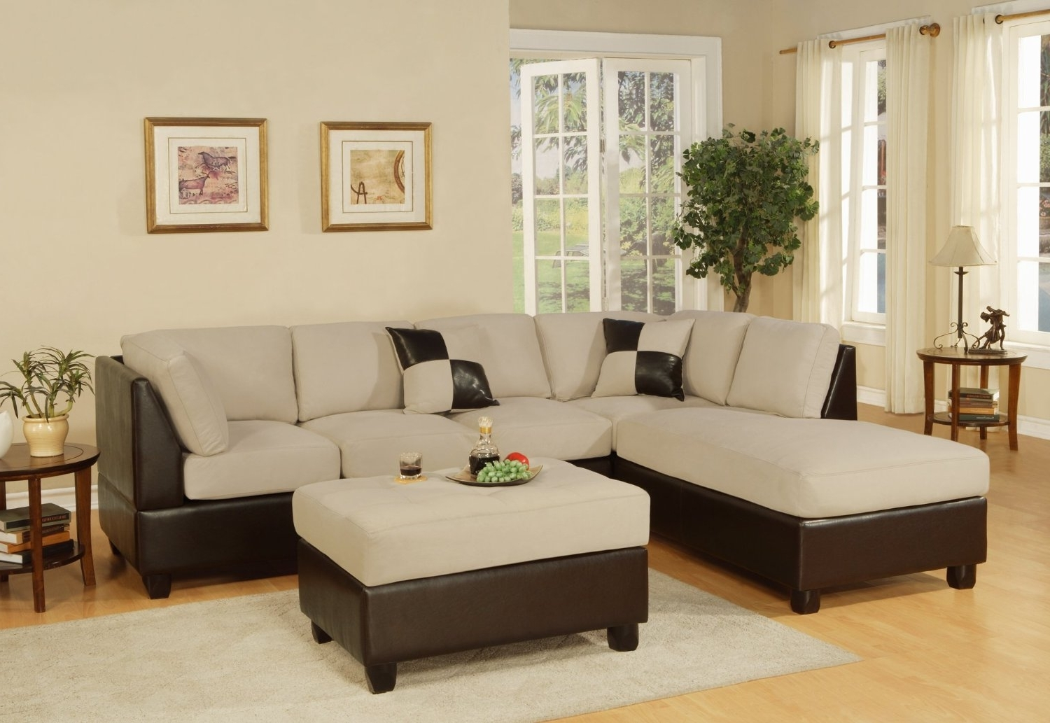 Furniture : Sectional Sofa 96X96 Sectional Couch Costco Sectional Throughout Fashionable 96X96 Sectional Sofas (View 10 of 15)