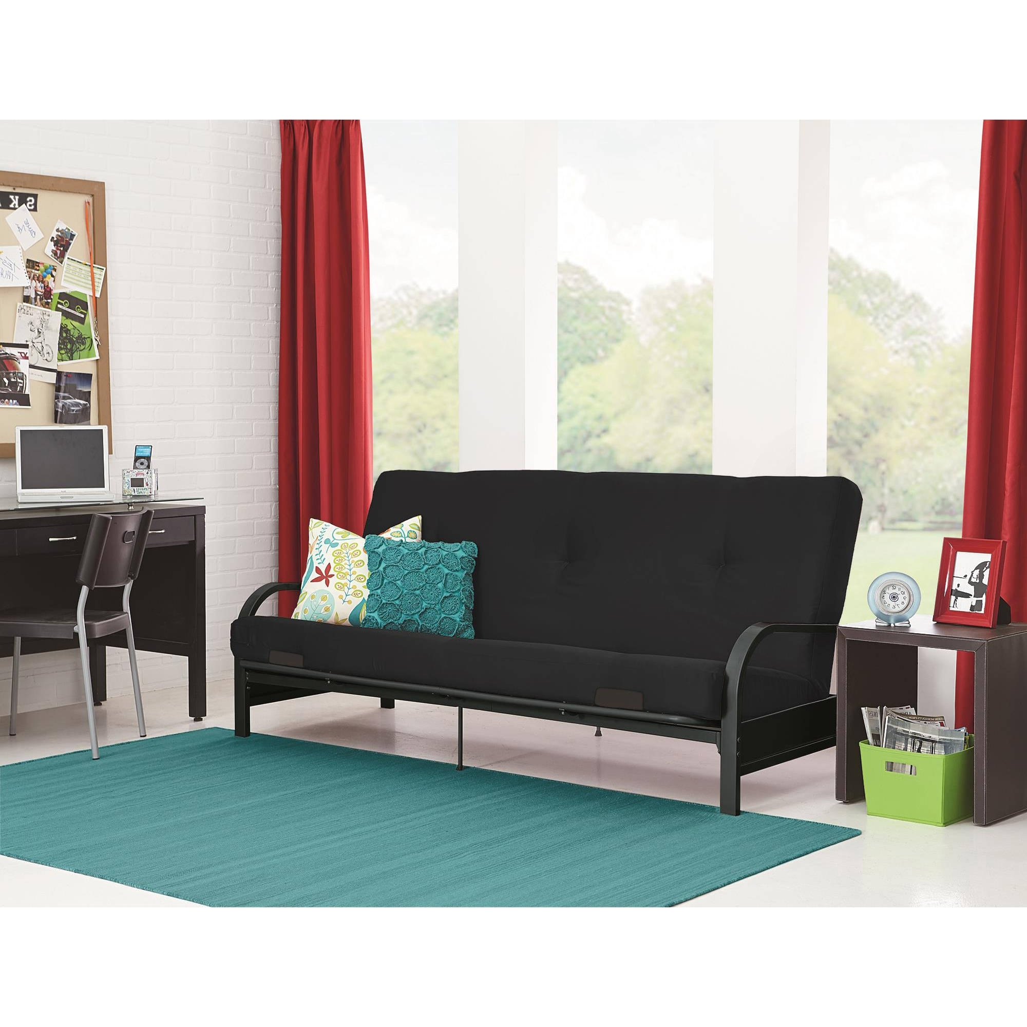 Futons – Walmart For Well Known Bedroom Sofas And Chairs (View 9 of 15)