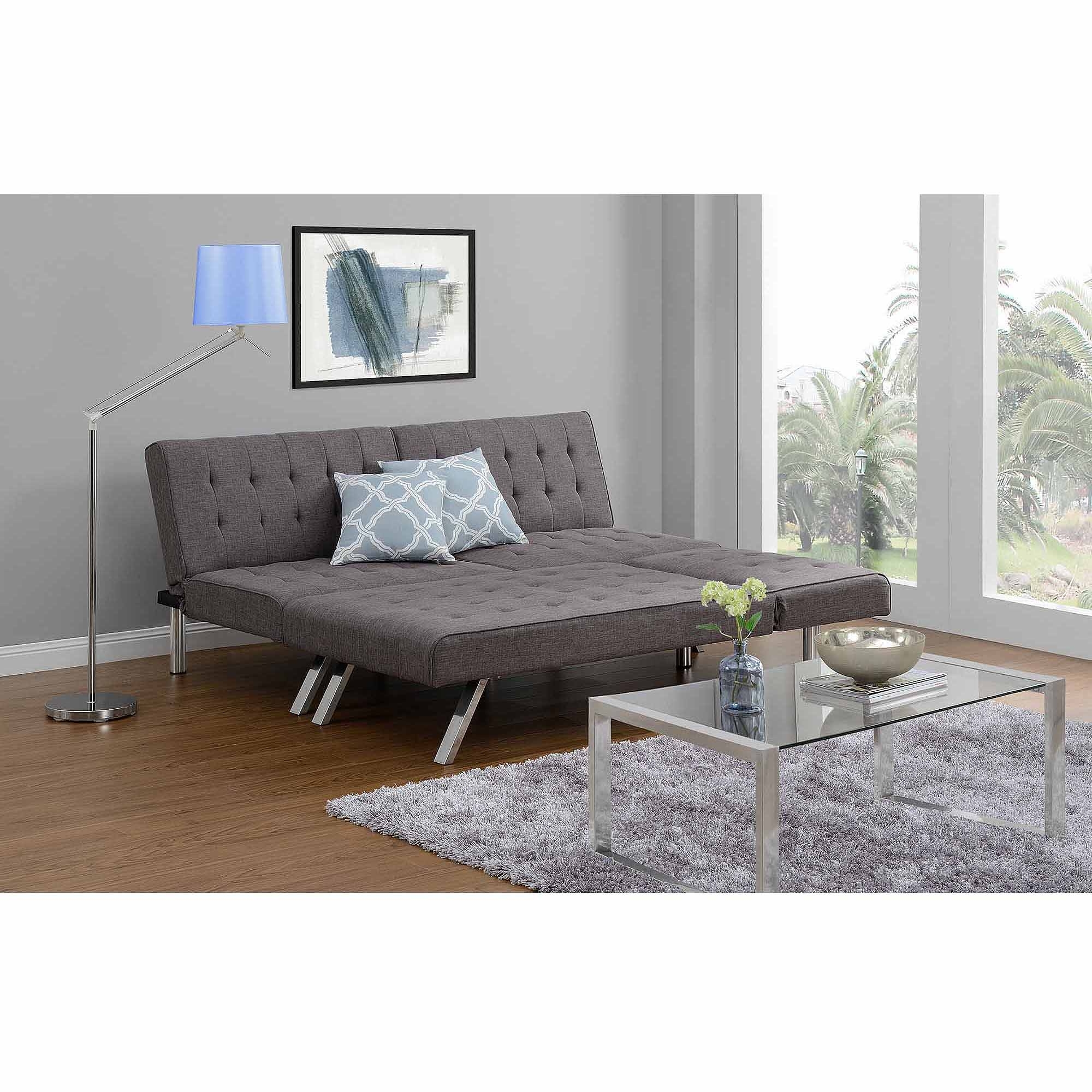 Futons With Chaise Pertaining To Most Recently Released Choice (View 10 of 15)