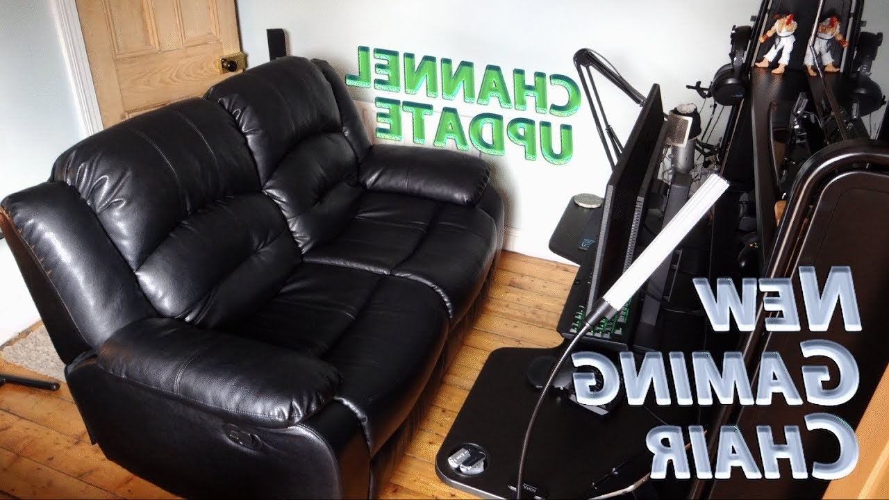 Gaming Sofa Chairs Pertaining To Most Recently Released Gaming & Editing Setup Overhaul » Hello Recliner Sofa, Goodbye (View 6 of 15)