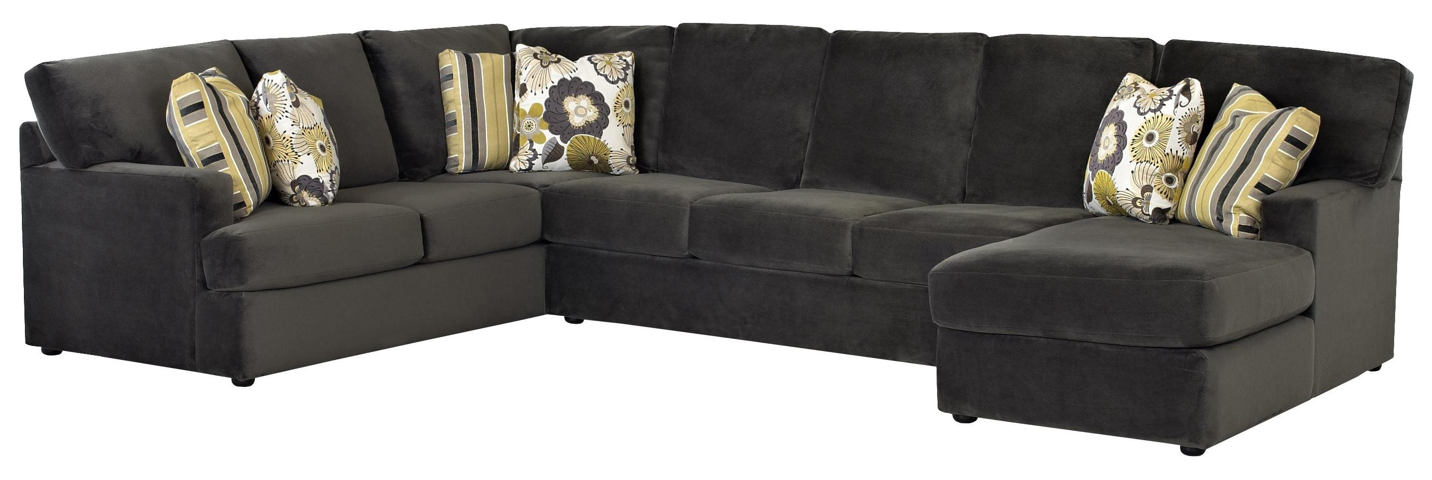 Gardiners Sectional Sofas Within Fashionable Sectional Sofa With Left Side Chaiseklaussner (View 6 of 15)