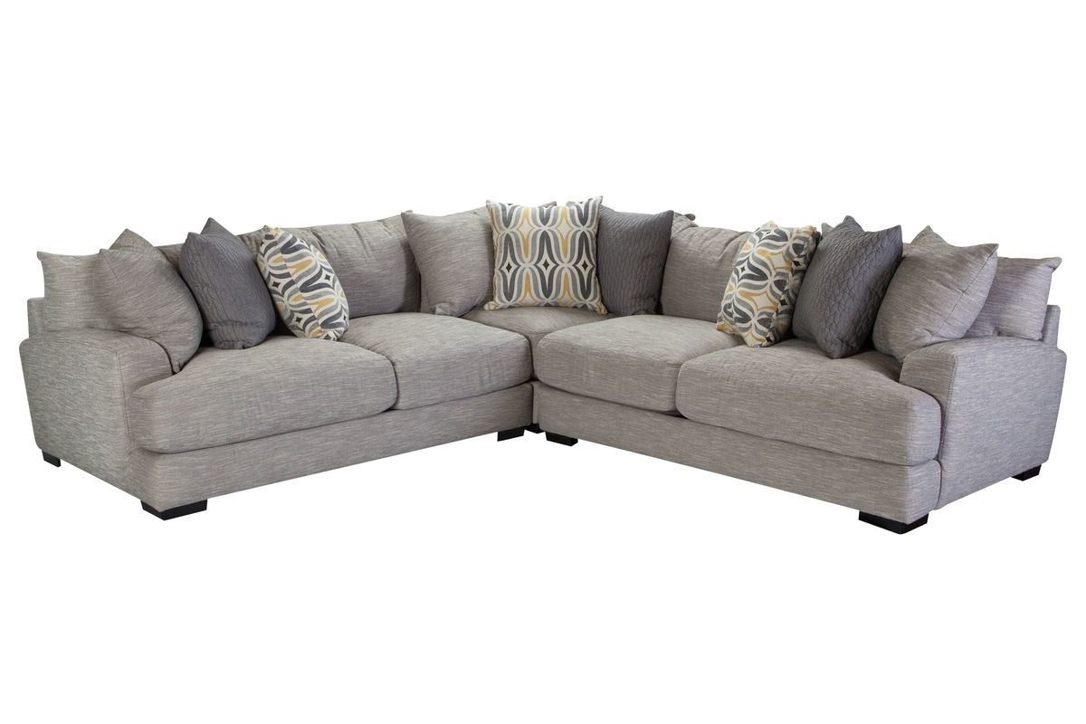 Gardner White Sectional Sofas Intended For Well Known Barton 3 Piece Sectional At Gardner White (View 4 of 15)
