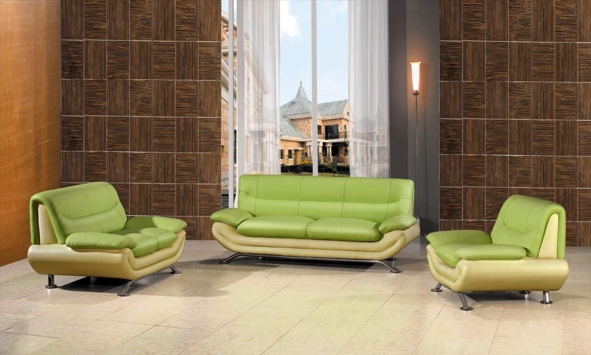 Get Your Living Space A Nice Color Splash With Cool Green Sofa Pertaining To Favorite Green Sofa Chairs (View 3 of 15)