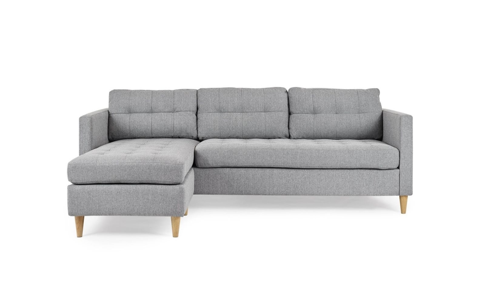 Gray Chaise Sofas Throughout Newest Chaise Corner Sofas #3 Alexis Interchangeable Reversible Chaise (View 5 of 15)