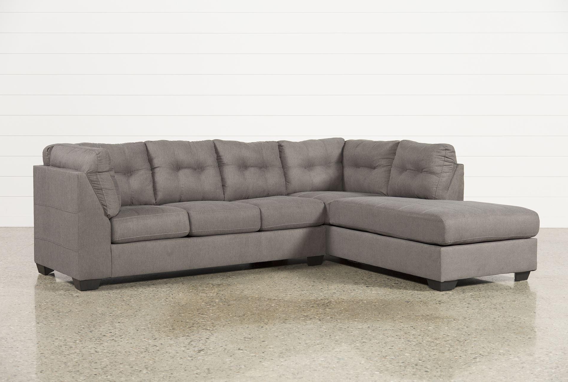 Gray Sectional Sofa With Chaise Lounge (View 7 of 15)
