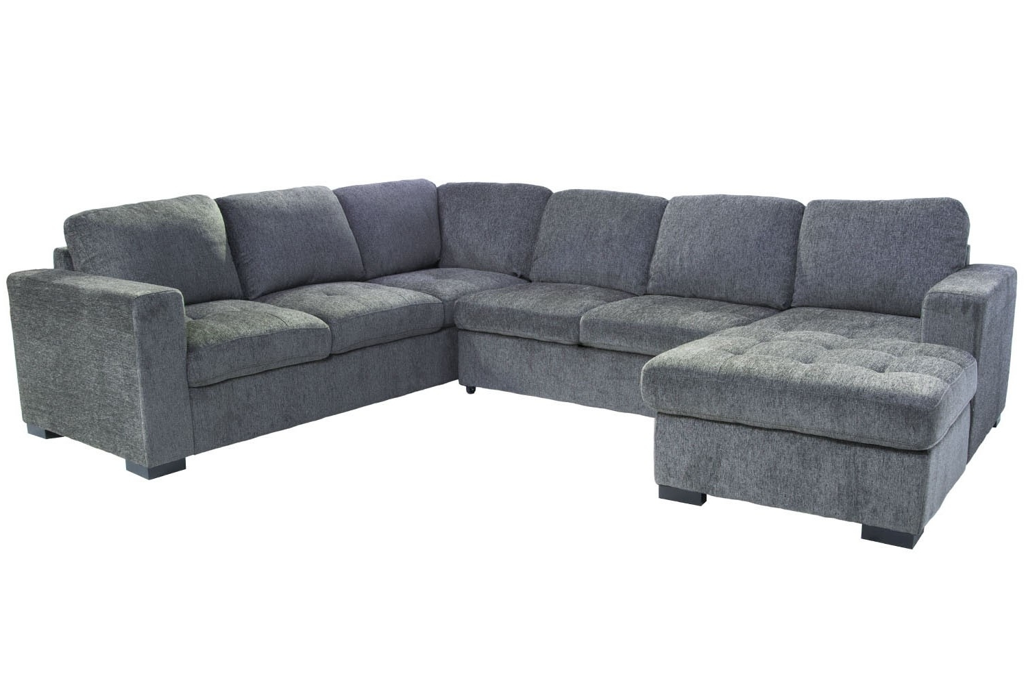Gray Sectionals With Chaise Intended For Well Known Sectional Sofas (View 7 of 15)