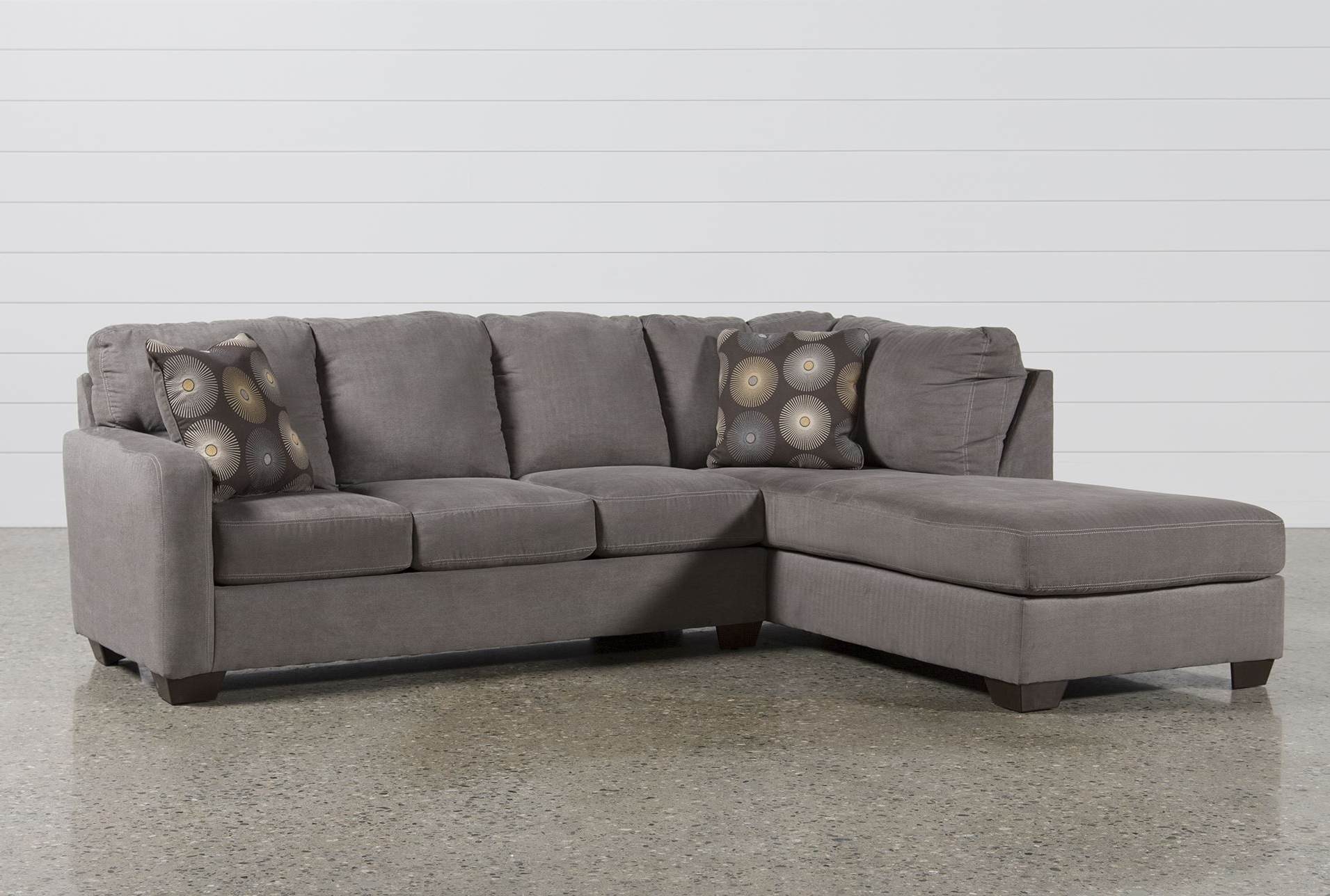 Gray Sectionals With Chaise Pertaining To Popular Sofa ~ Luxury Leather Sofa With Chaise Lounge Cute Small Sectional (View 8 of 15)