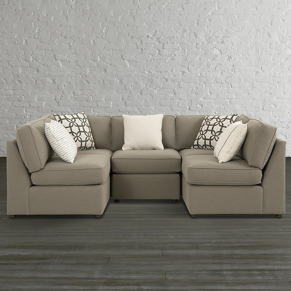 Gray U Shaped Sectionals For Fashionable Gray U Shaped Sectional Sofa — Fabrizio Design : Fashionable U (View 9 of 15)