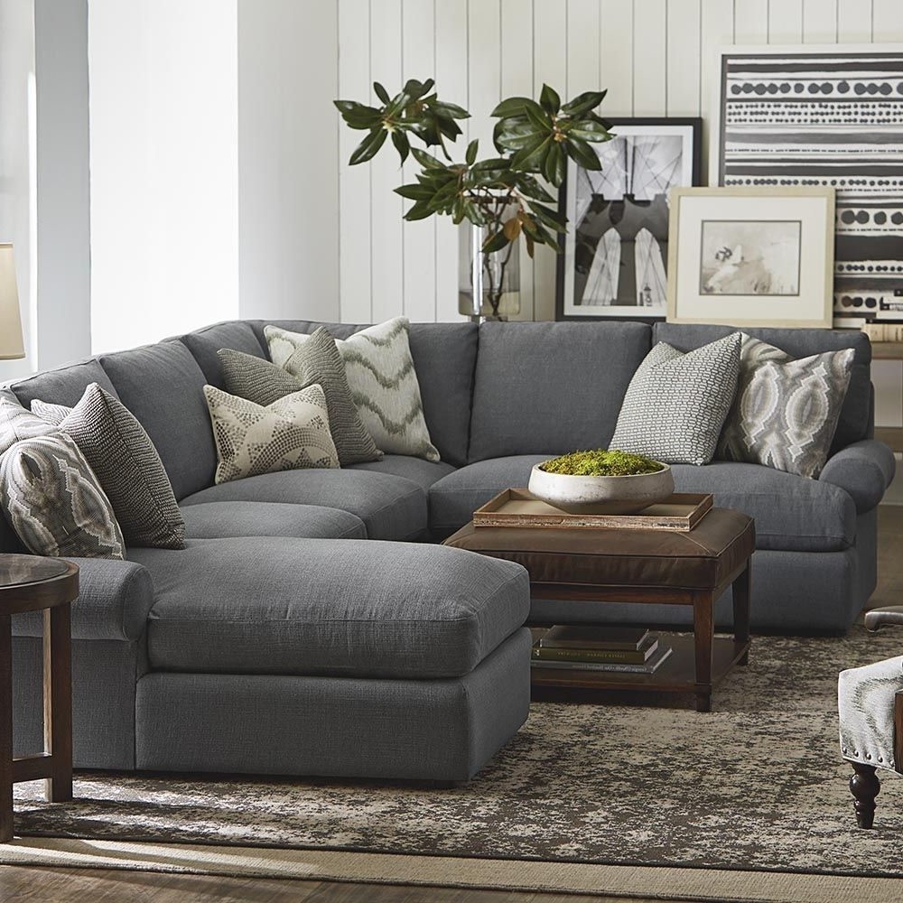 Featured Photo of Gray U Shaped Sectionals