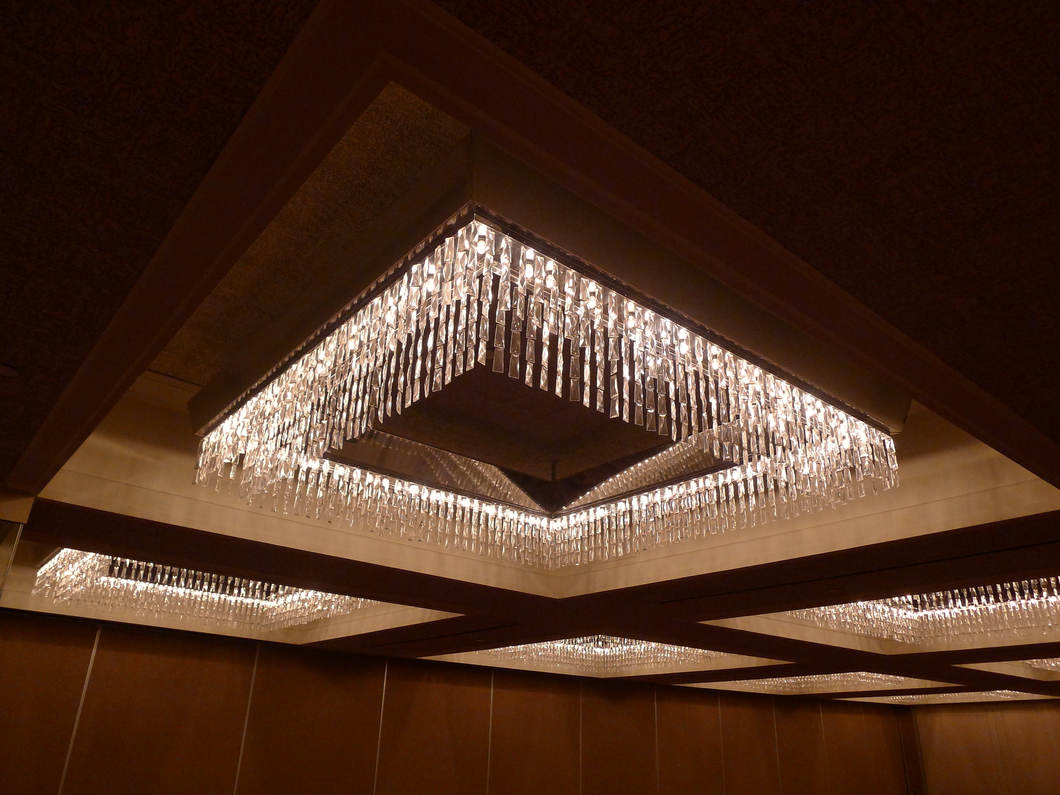Great Low Profile Chandelier With Lots Of Sparkle And Glamour Within Most Current Ballroom Chandeliers (View 3 of 15)