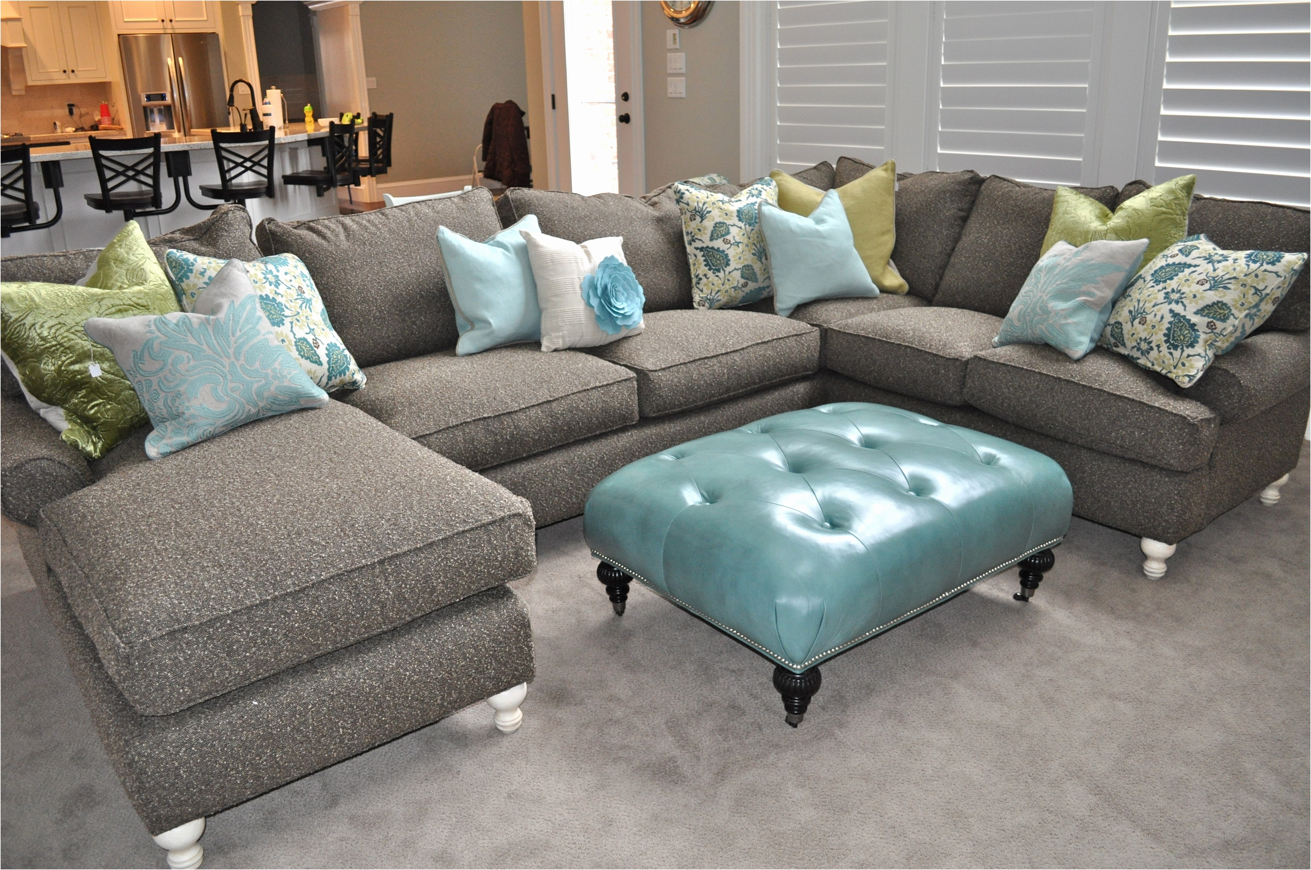 Green Sectional Sofas With Chaise Pertaining To Popular Faux Leather Sectional Sofas Best Of Fancy Green Sectional Sofa (View 8 of 15)