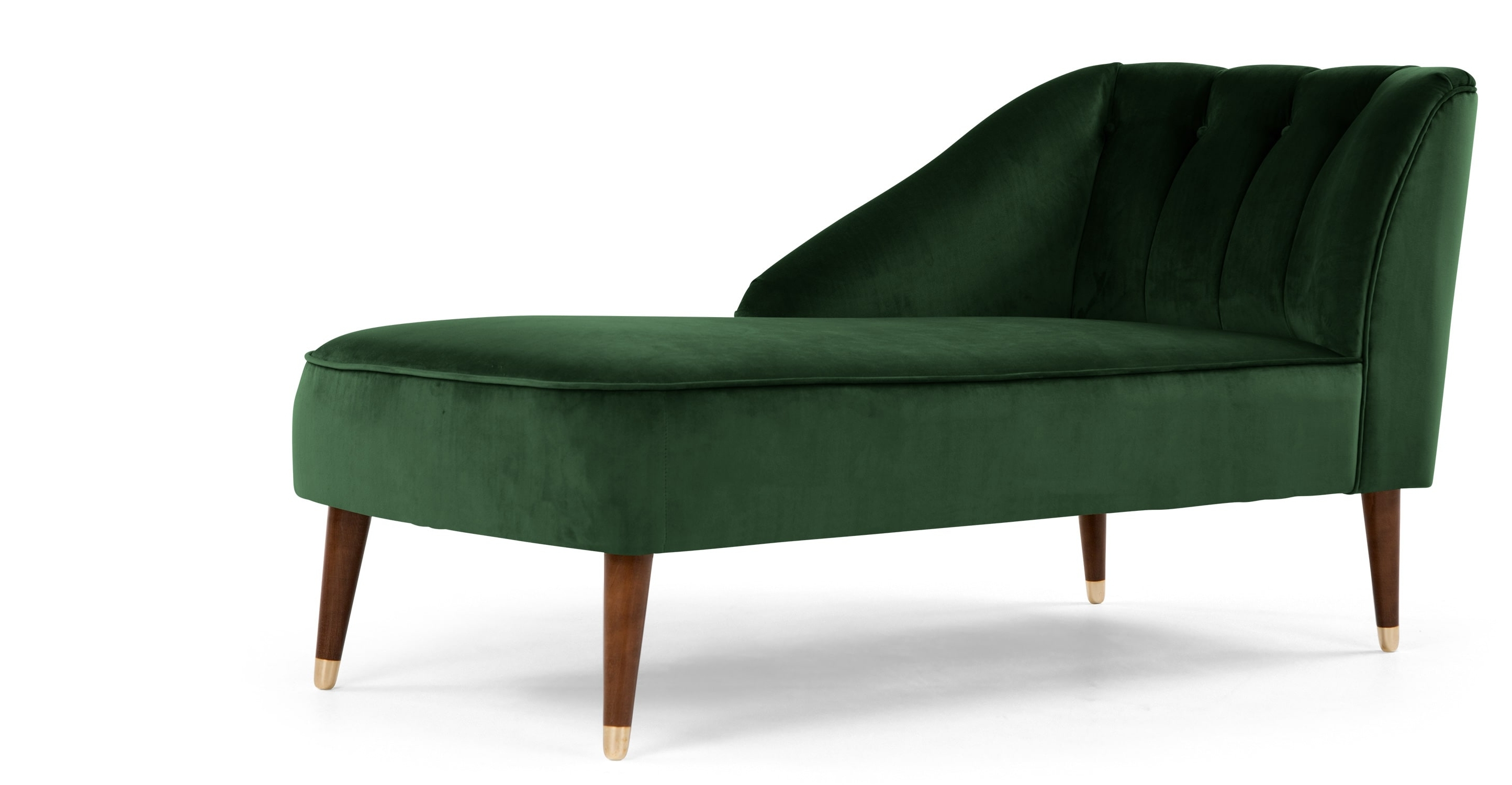 Green Velvet Chaise Lounge – Geekleetist In Most Popular Green Chaise Lounges (View 8 of 15)