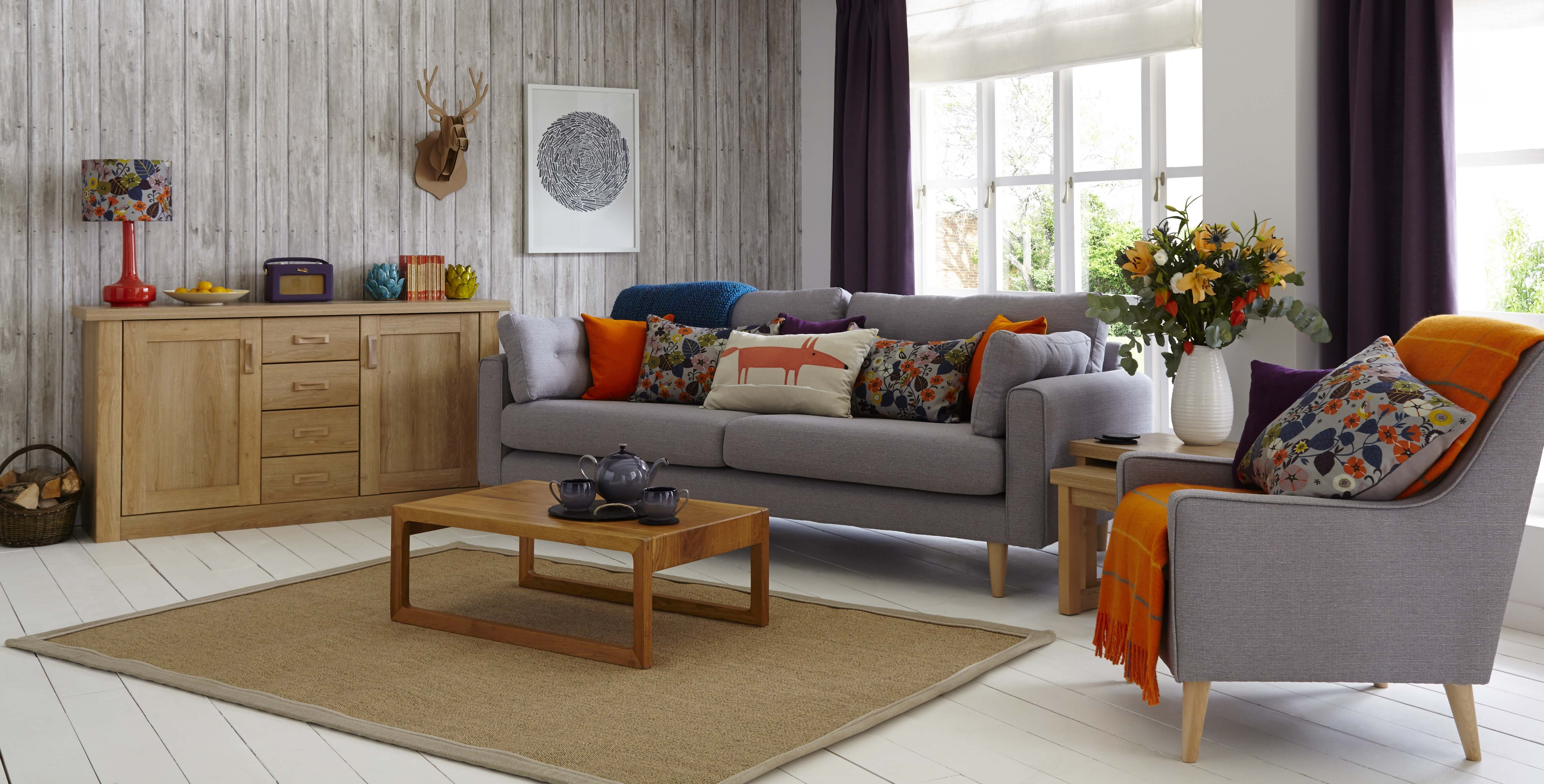Grey Sofa Chairs Pertaining To Current Gray Living Room Furniture Southnext Us Colour Schemes Brown (View 7 of 15)