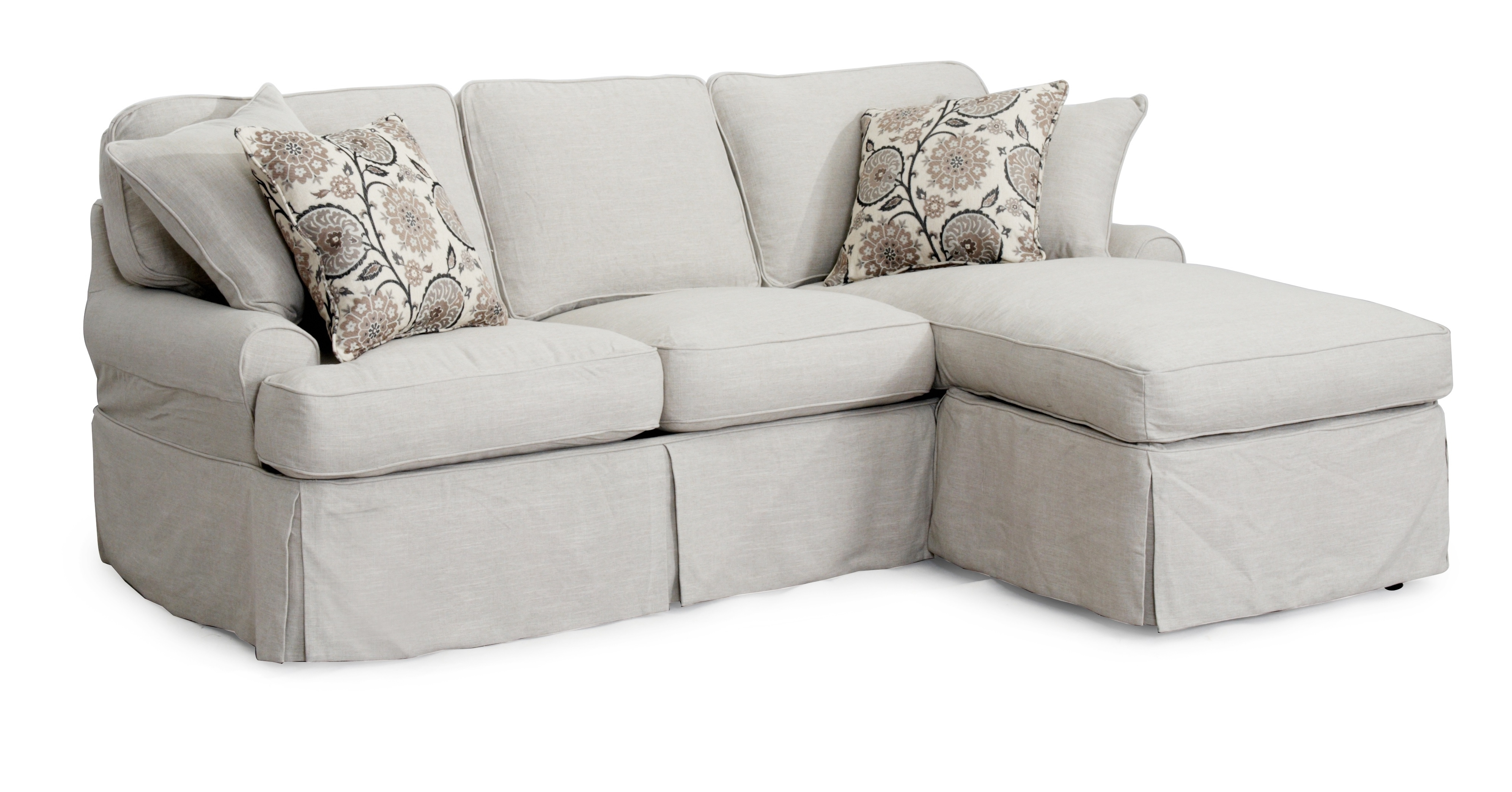 Grey Sofa Chaises Throughout 2018 Decorating Interesting Walmart Slipcovers For Living Room Grey (View 6 of 15)