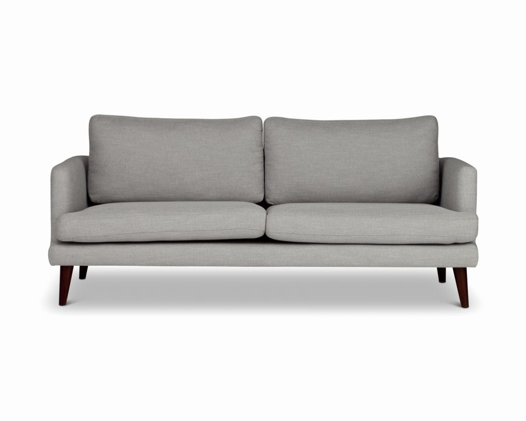 Grey Sofa Chaises Throughout Popular Sofa ~ Wonderful Grey Studded Couch Grey Couch And Loveseat Best (View 2 of 15)