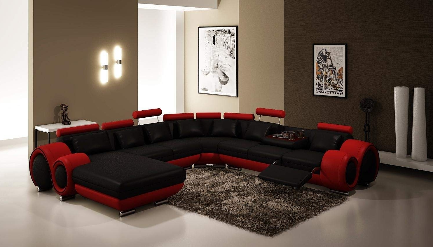 Gta Sectional Sofas In Recent Best Free Modern Sectional Sofa Gta #25321 (Gallery 7 of 15)