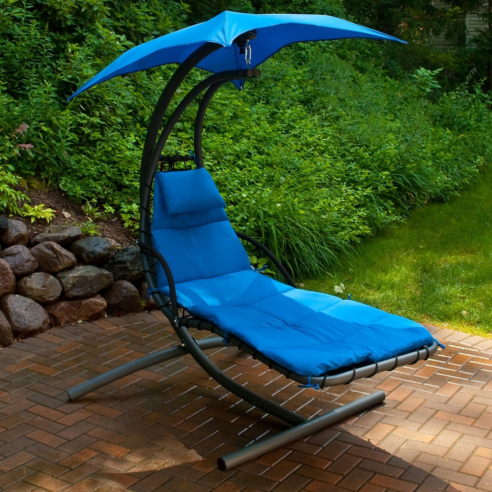 Hanging Chaise Lounge Chairs Inside Latest Cloud 9 Hanging Chaise Lounge – American Sale (View 5 of 15)