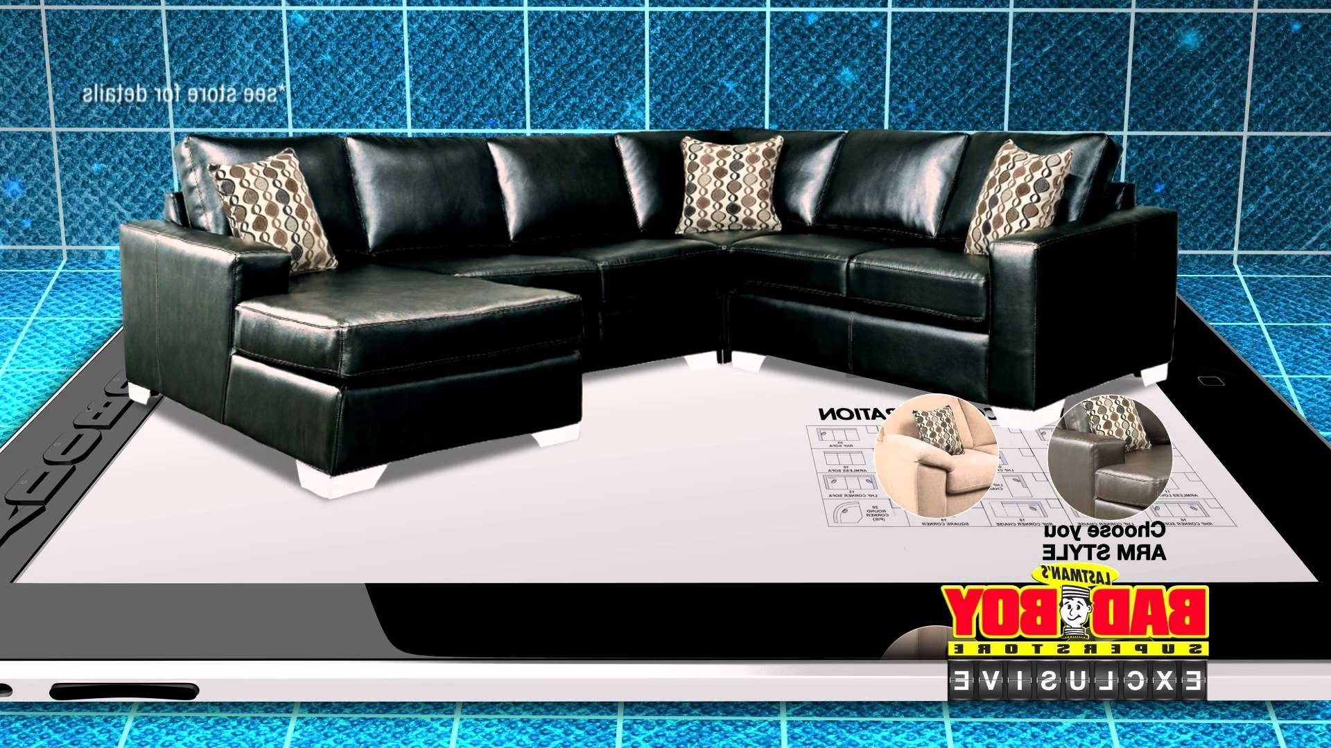 Have It Your Way, Customize Your Sofa At Lastman's Bad Boy – Youtube Throughout Recent Sectional Sofas At Bad Boy (View 8 of 15)