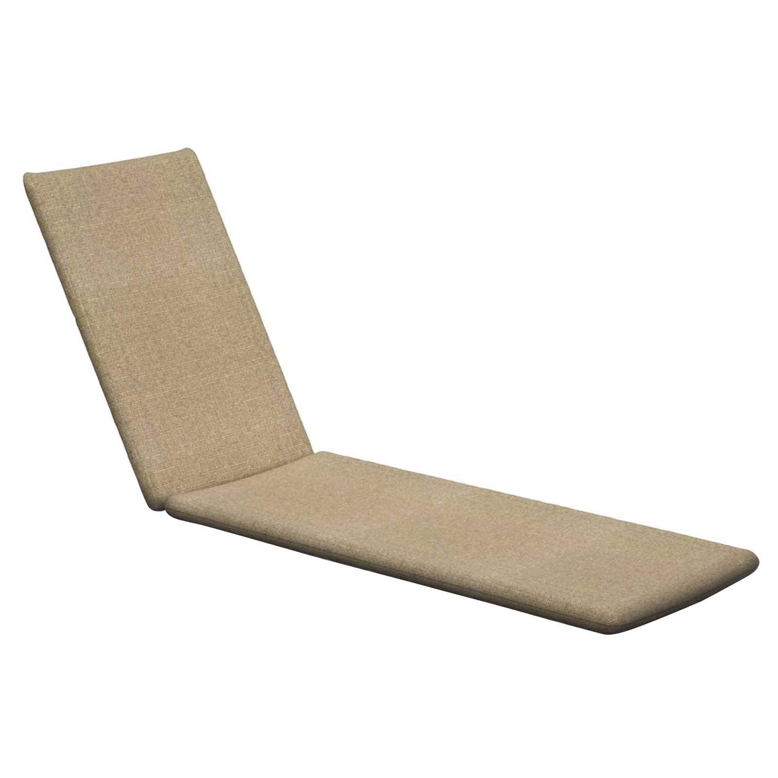 Hayneedle Pertaining To 2017 Chaise Lounge Pads (View 12 of 15)