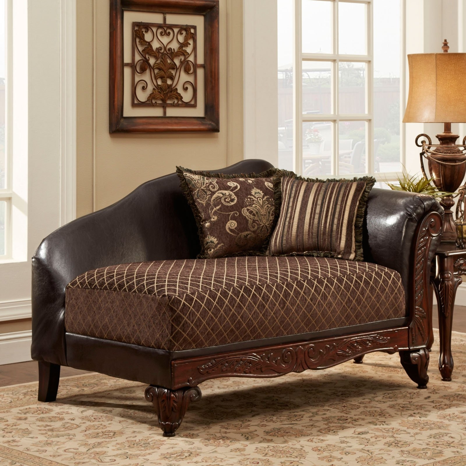 Hayneedle Regarding Brown Chaise Lounges (View 3 of 15)