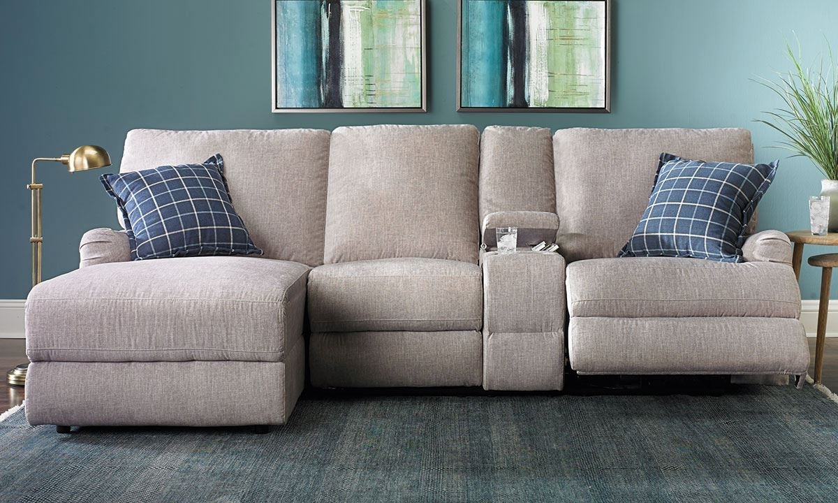 Haynes Sectional Sofas With Most Popular Immediately Sofa With Chaise And Recliner Alton Power Reclining (View 8 of 15)