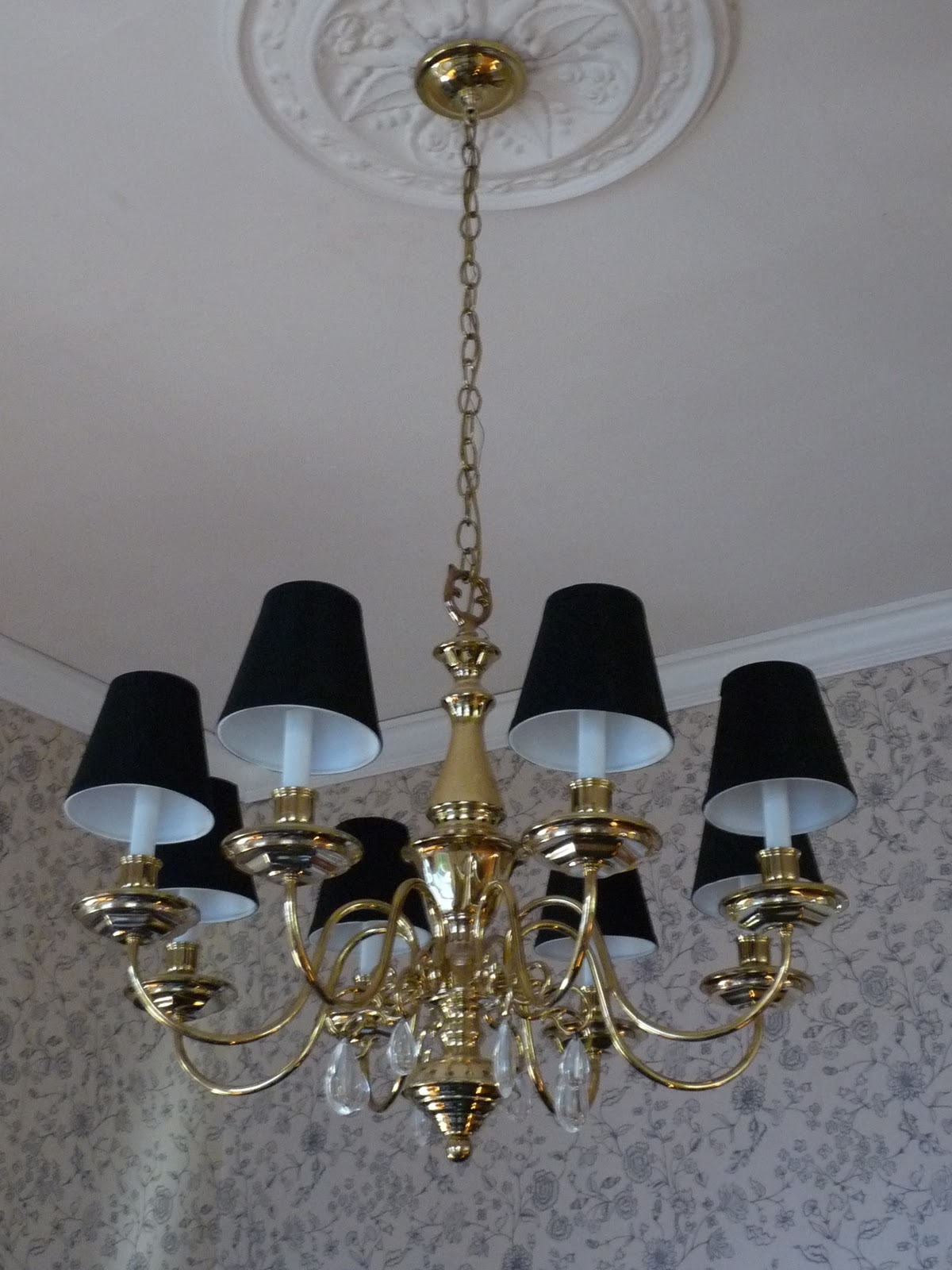 Hazardous Design: And Now We Have Light With Well Known Black Chandeliers With Shades (View 7 of 15)