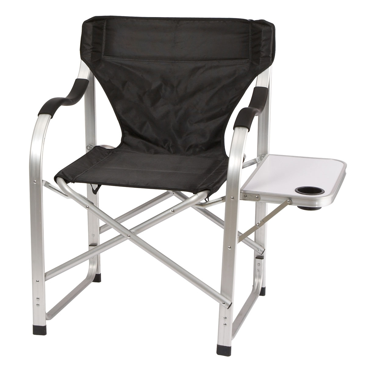 Heavy Duty Collapsible Lawn Chair (Black) – From Sportys Preferred With Current Lawn Chaises (View 4 of 15)