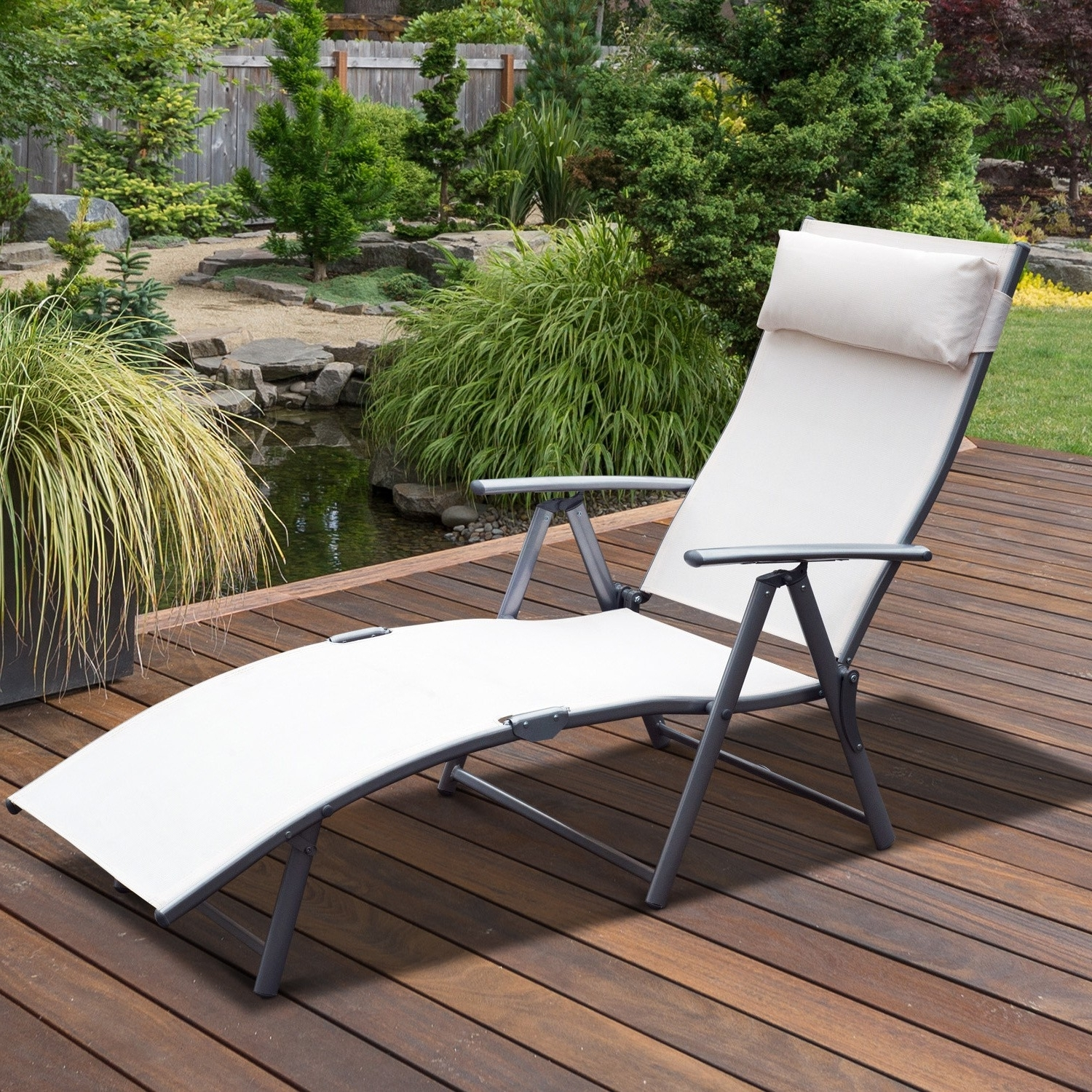 Heavy Duty Outdoor Chaise Lounge Chairs Intended For 2017 Lounge Chair : Lawn Chairs For Big And Tall Lawn Chairs 300 Lb (View 13 of 15)