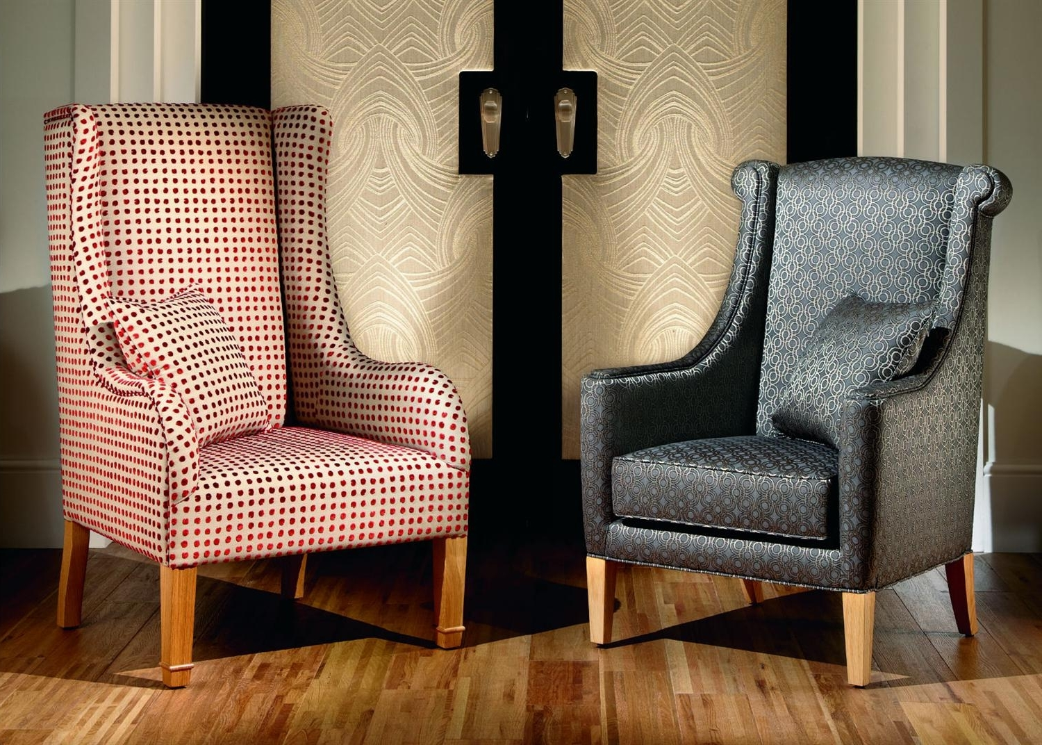 High Backed Chair From Duresta (View 7 of 15)
