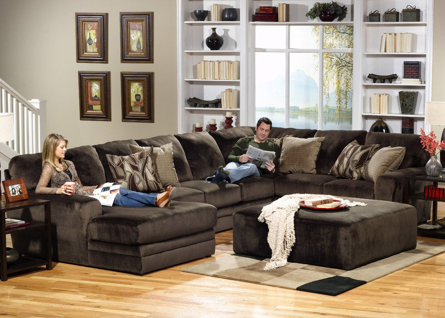 Hom Furniture Inside Favorite St Cloud Mn Sectional Sofas (View 5 of 15)