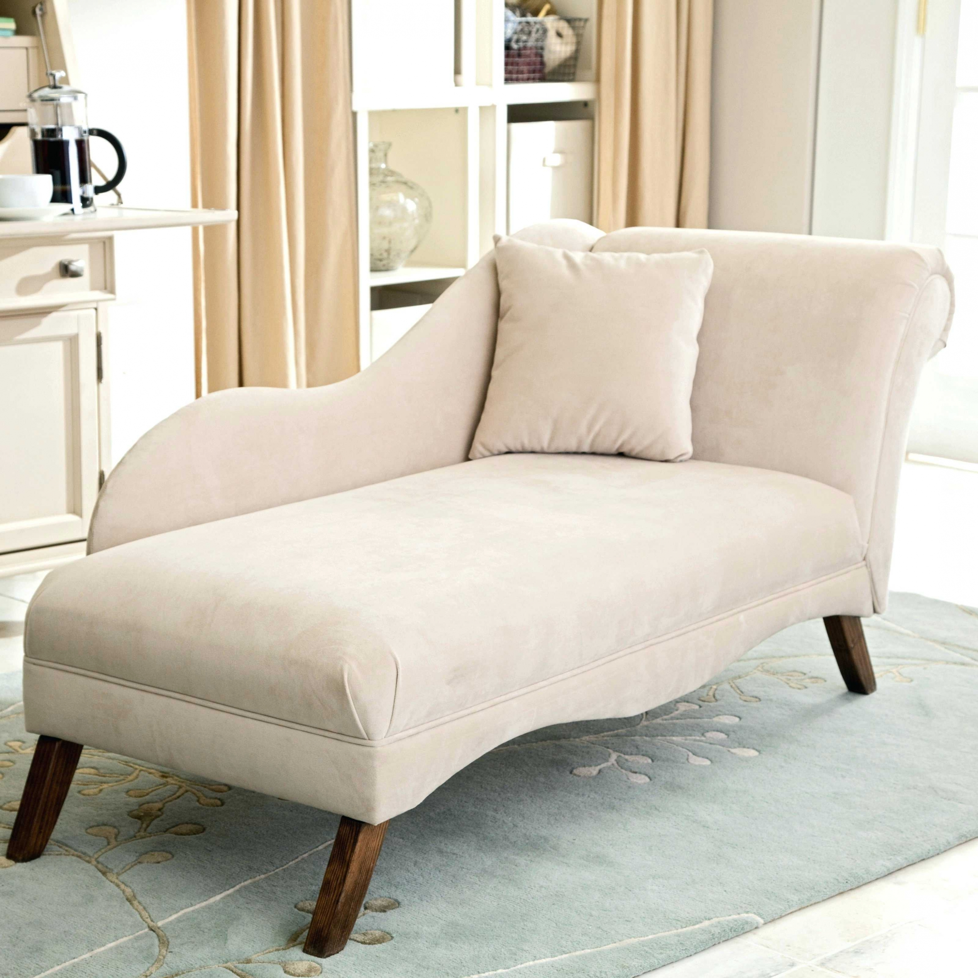 Home Decor: Small Chaise Lounge Chairs For Bedroom French Style Regarding Latest Narrow Chaise Lounge Chairs (View 4 of 15)