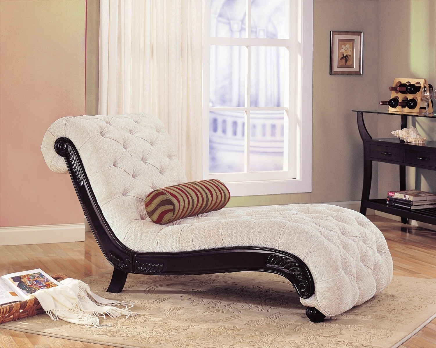 Home Design : 81 Appealing Modern Chaise Lounge Chairss Inside Preferred Chaises For Bedroom (View 5 of 15)