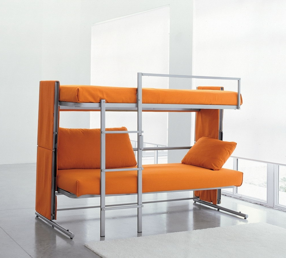 Home Design Ideas Within Preferred Sofa Bunk Beds (View 12 of 15)