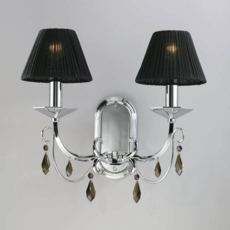 Home Design In Black Chandelier Wall Lights (View 9 of 15)