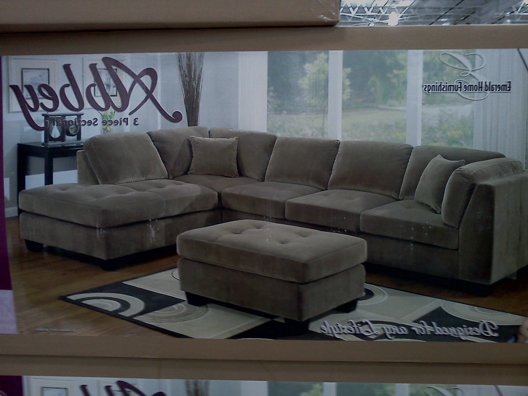 Home Furniture Sectional Sofas Regarding Most Recent Costco Emerald Home Modular Sectional Slickdeals – Kaf Mobile (View 4 of 15)