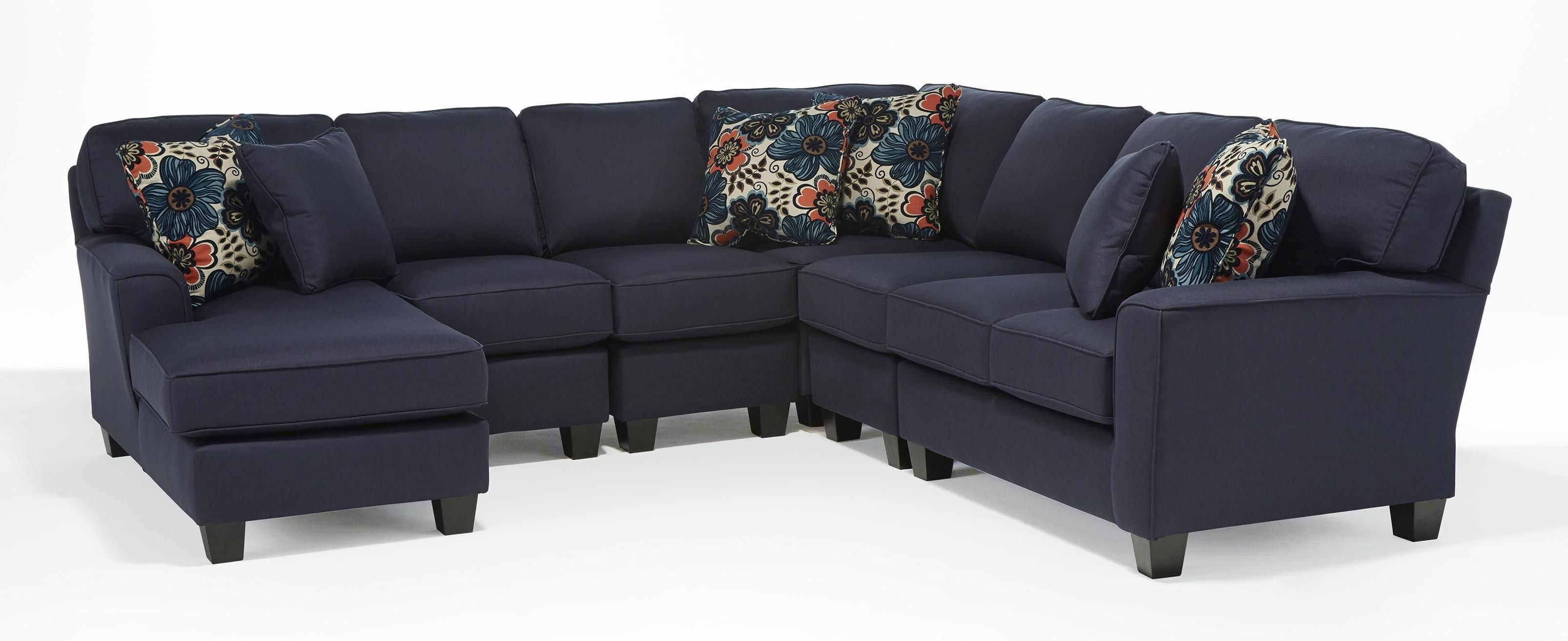 Home Furniture Sectional Sofas With Regard To Preferred Best Home Furnishings Annabel Five Piece Customizable Sectional (View 8 of 15)