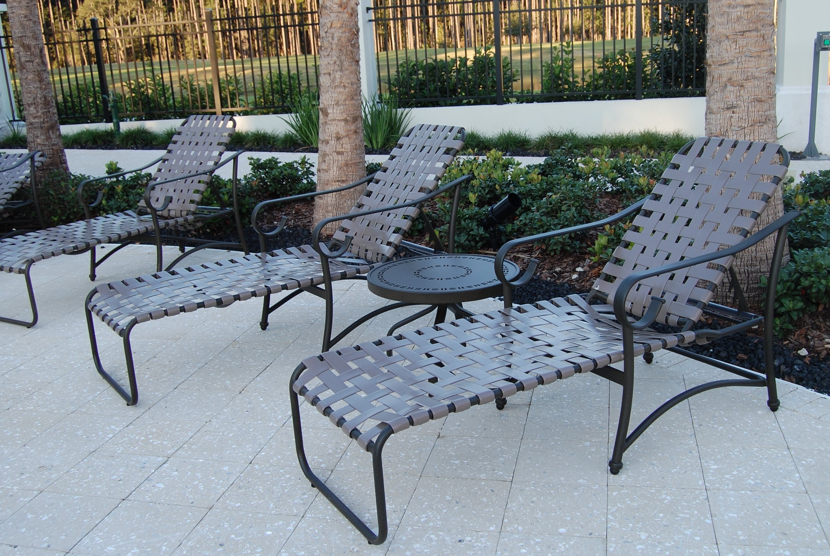 Home Outdoor Decoration Inside Vinyl Chaise Lounge Chairs (View 2 of 15)
